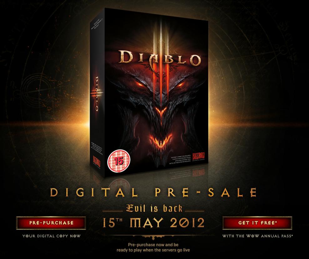 Diablo 3 vychází 15. května 2012!