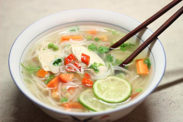 Můj recept na kuřecí polévku, perfektní proti nachlazení