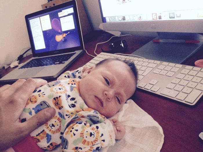 První měsíc s malou Zoe a 10 věcí, které se změnily