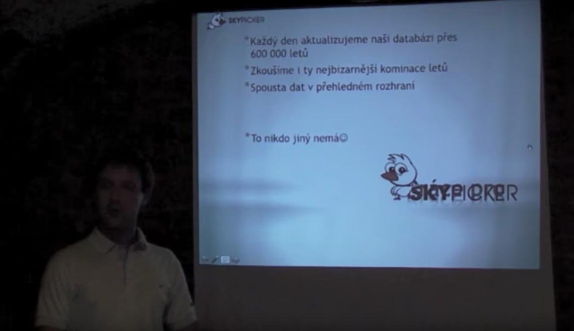 Představení startupu Skypicker.com