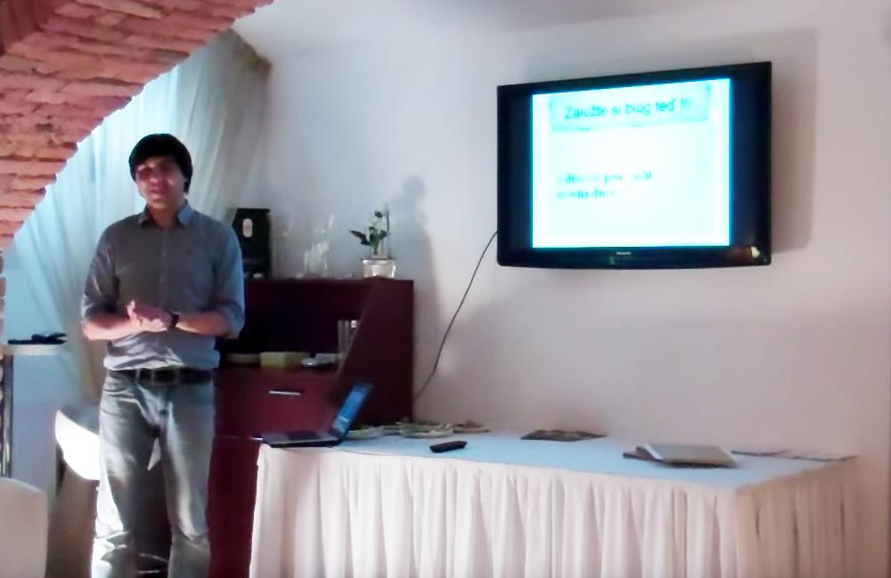 Přednáška: Jak vytvořit výdělečný blog